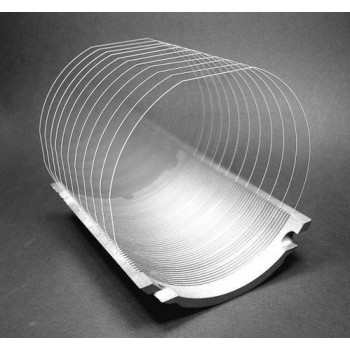 The transparent wafer notch aligner retrofitted for third-generation semiconductor SiC and GaN.